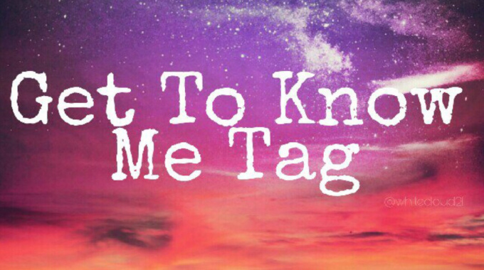Nominated for Get To Know MeTag