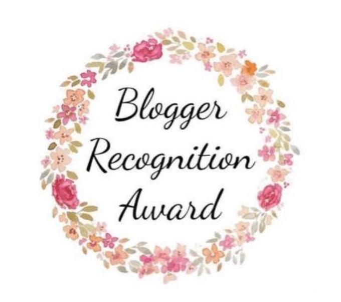 Nominated for Blogger RecognitionAward(2nd)