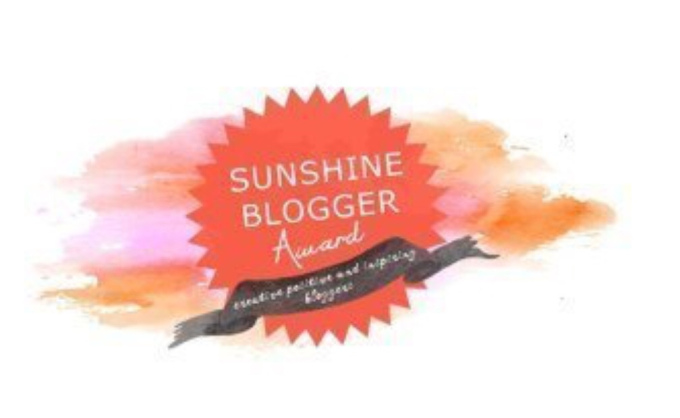 Nominated for Sunshine Blogger Award(6th)