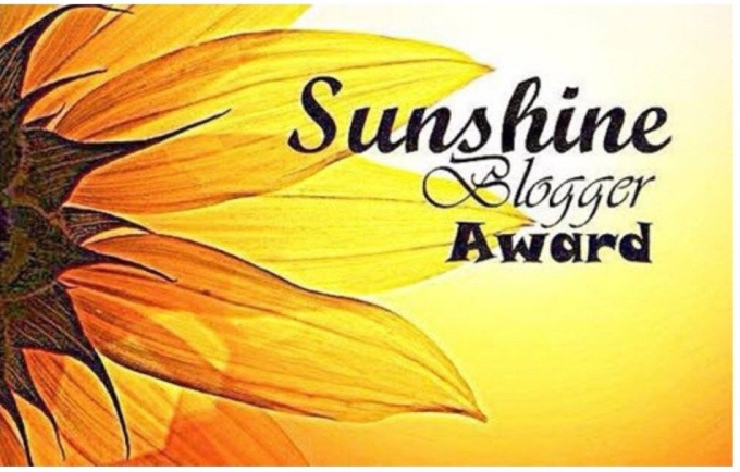 Nominated for Sunshine Blogger Award (7th)