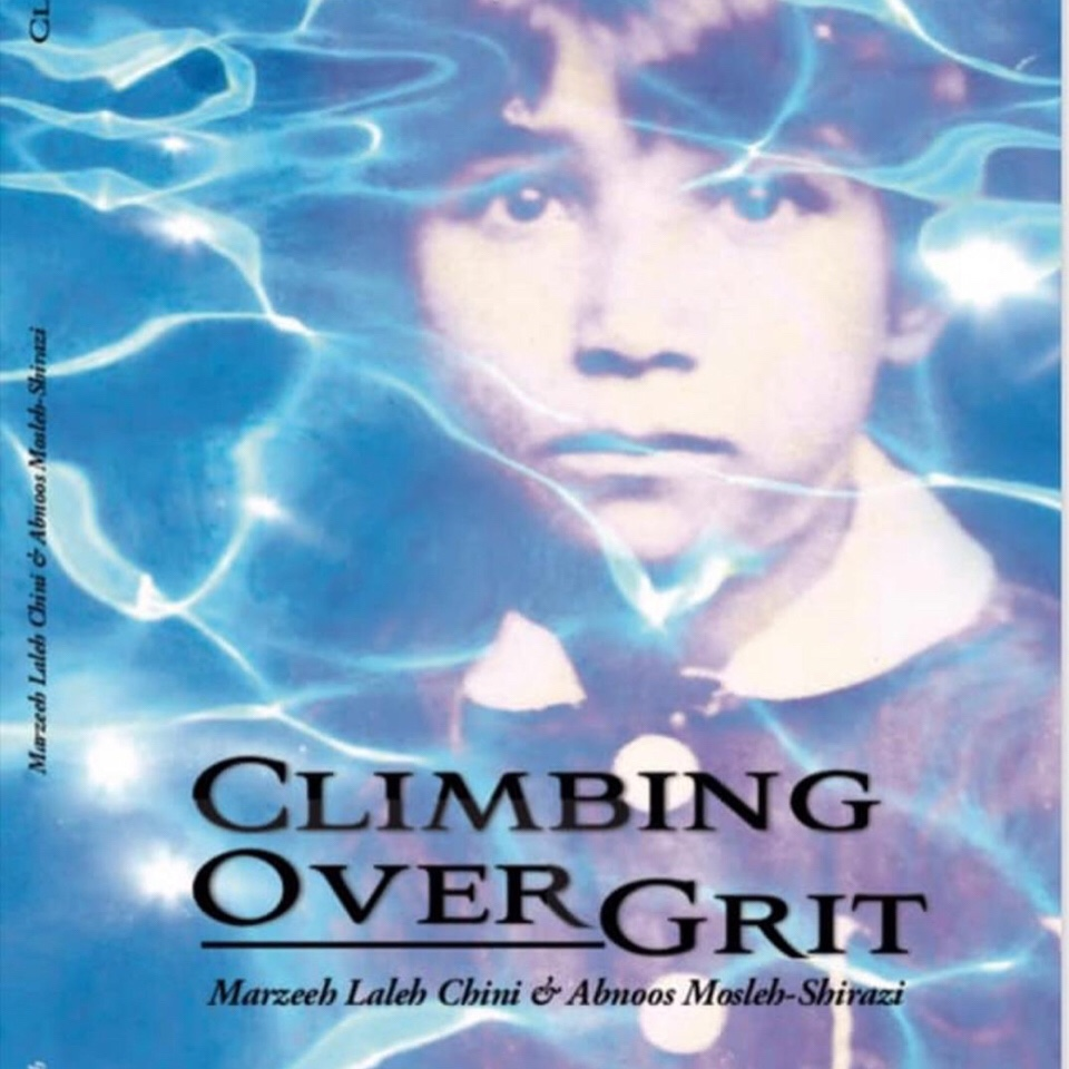 "Climbing Over Grit""Quote 8″"