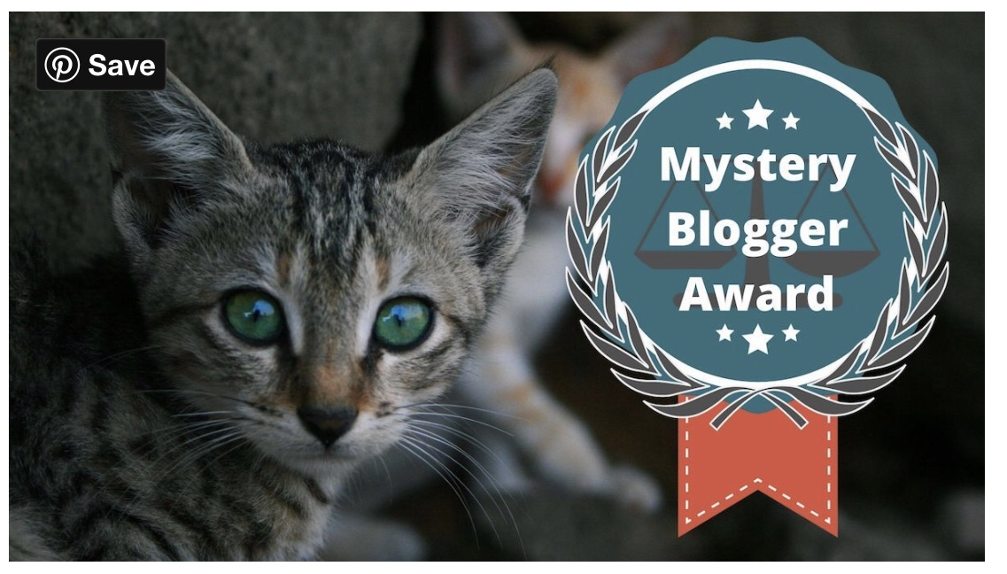 "Nominated for ""Mystery Blogger Award""(11th)"